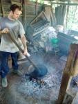 el tostador artesanal, algo calentito