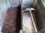 el cubo de fermentación