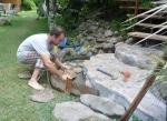 construyendo un escalón yo solo...