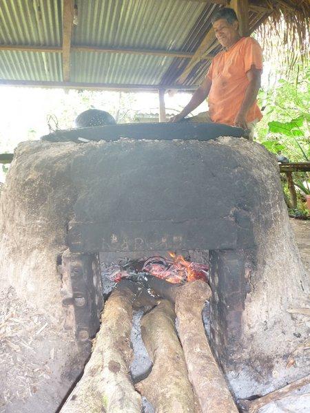 para calentar todo el jugo hace falta un buen fuego