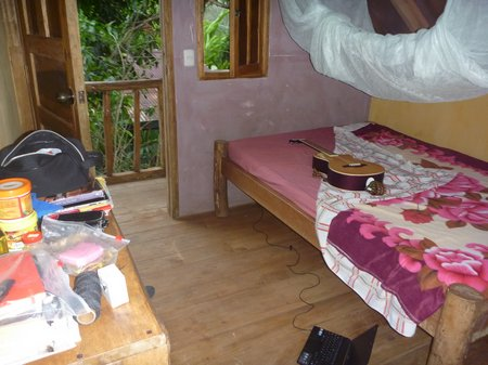 mi cuarto en la casita del arbol