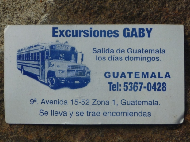 contact in Guatemala
