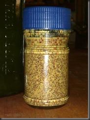 home-made mustard